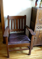 Stickley-Brothers-Armchair-Circa-1910