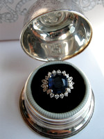 Natural-Sapphire-Diamond-Cluster-Ring